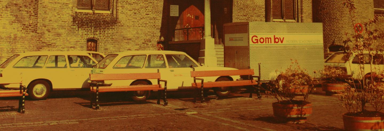 Gedateerde auto's uit de jaren zeventig in beeld